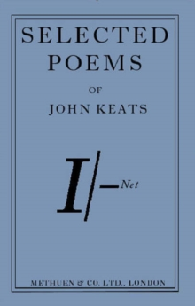 Twenty Poems from John Keats, Paperback Book