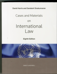 Cases and Materials on International Law, Paperback Book