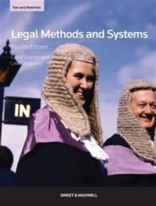 Legal Methods and Systems: Text & Materials, Paperback Book