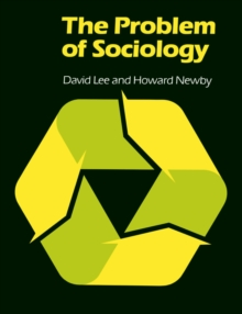 The Problem of Sociology, Paperback Book