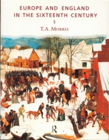 Europe and England in the Sixteenth Century, Paperback Book