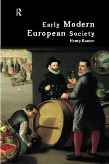Early Modern European Society, Paperback Book
