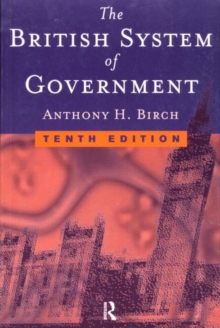 British System of Government, Paperback Book