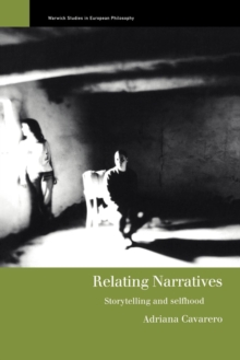 Relating Narratives : Storytelling and Selfhood, Paperback Book
