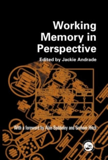 Working Memory in Perspective, Paperback / softback Book