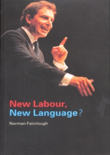 New Labour, New Language?, Paperback Book