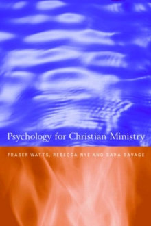 Psychology for Christian Ministry, Paperback Book