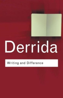 Writing and Difference, Paperback Book