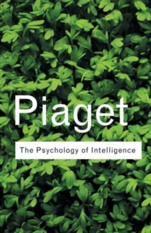 The Psychology of Intelligence, Paperback Book