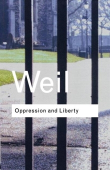 Oppression and Liberty, Paperback Book
