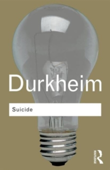 Suicide : A Study in Sociology, Paperback Book