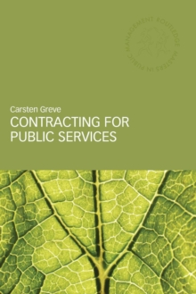 Contracting for Public Services, Paperback / softback Book