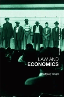Economics of the Law : A Primer, Paperback / softback Book