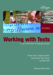 Working with Texts : A Core Introduction to Language Analysis, Paperback Book