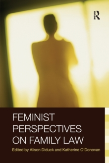 Feminist Perspectives on Family Law, Paperback / softback Book