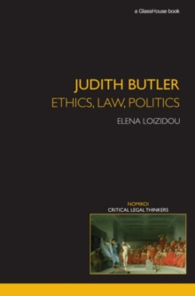Judith Butler: Ethics, Law, Politics, Paperback / softback Book