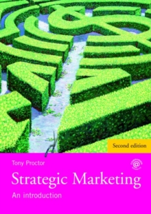 Strategic Marketing : An Introduction, Paperback / softback Book