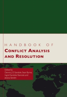 Handbook of Conflict Analysis and Resolution, Paperback / softback Book