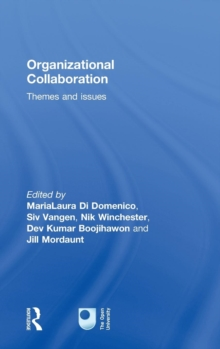 Organizational Collaboration : Themes and Issues, Hardback Book