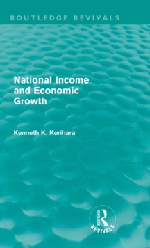 National Income and Economic Growth, Hardback Book