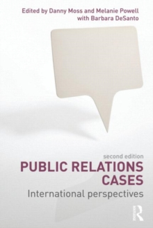 Public Relations Cases : International Perspectives, Paperback / softback Book