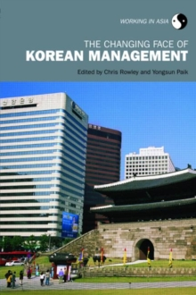 The Changing Face of Korean Management, Paperback / softback Book