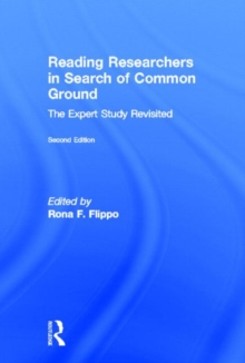Reading Researchers in Search of Common Ground : The Expert Study Revisited, Hardback Book