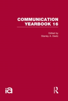 Communication Yearbook 16, Hardback Book