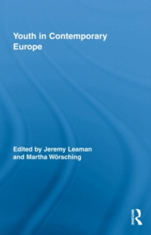 Youth in Contemporary Europe, Hardback Book
