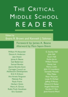 The Critical Middle School Reader, Paperback / softback Book