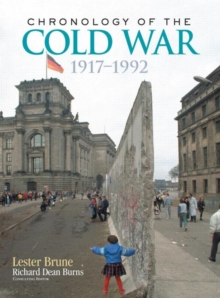 Chronology of the Cold War : 1917-1992, Hardback Book
