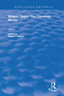 William Gager : The Complete Works, PDF eBook