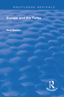 Europe and the Turks, PDF eBook