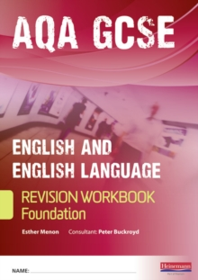 Revise GCSE AQA English/Language  Workbook - Foundation, Paperback Book