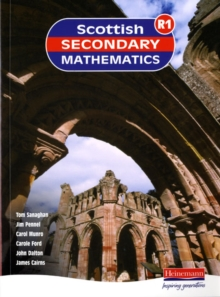Scottish Secondary Maths Red 1 Student Book, Paperback Book