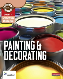 Level 1 NVQ/SVQ Diploma Painting and Decorating Candidate Handbook, Paperback Book