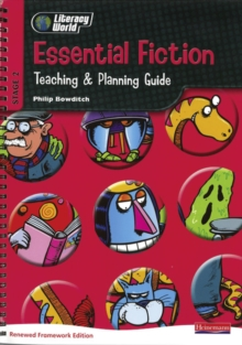 Literacy World Stg 2: Essential Fiction Teaching & Planning Guide Framework England/Wales, Spiral bound Book
