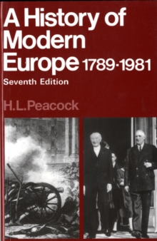 Hist Modern Europe 1789-1981, Paperback Book