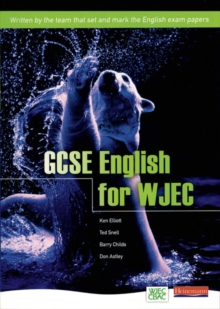 GCSE English for WJEC Student Book, Paperback Book