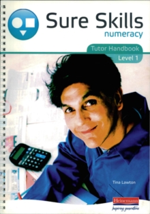 Sure Skills Numeracy Level 1 Tutor Handbook, Spiral bound Book