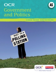 OCR A Level Government and Politics Student Book (AS), Paperback Book