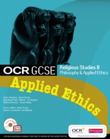 OCR GCSE Religious Studies B: Applied Ethics Student Book with ActiveBook CDROM, Mixed media product Book