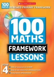 100 New Maths Framework Lessons for Year 4, Mixed media product Book