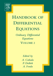Handbook of Differential Equations: Ordinary Differential Equations : Volume 2, Hardback Book