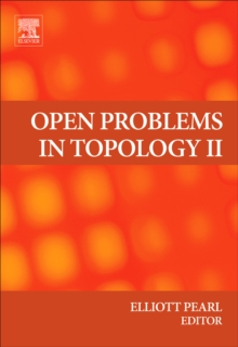 Open Problems in Topology II, Hardback Book