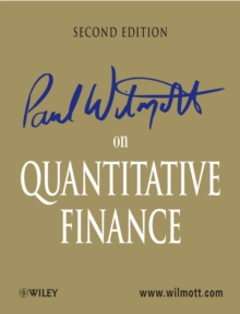 Paul Wilmott on Quantitative Finance, Hardback Book