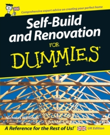 Self Build and Renovation For Dummies, Paperback Book