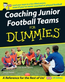 Coaching Junior Football Teams For Dummies, Paperback Book