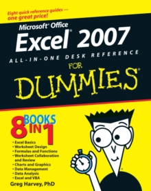 Excel 2007 All-In-One Desk Reference for Dummies, Paperback Book