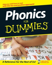 Phonics for Dummies W/CD, Paperback Book